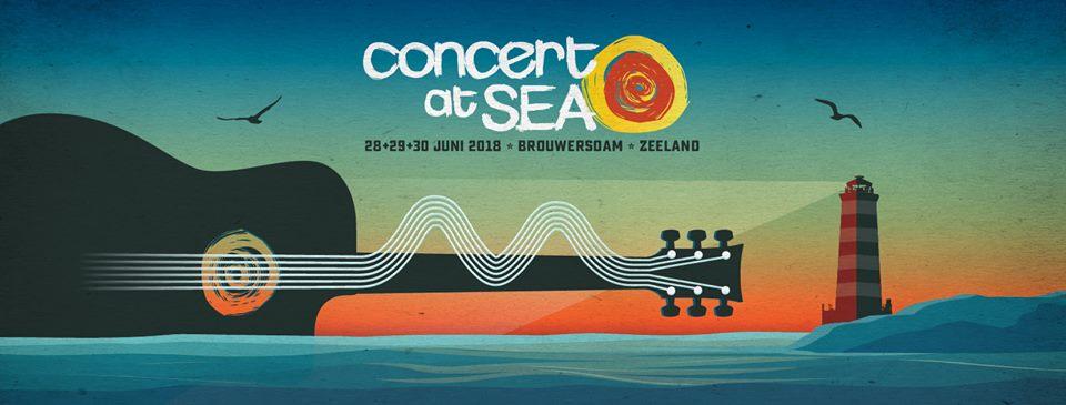 Concert at Sea 2018 Brouwersdam Zeeland