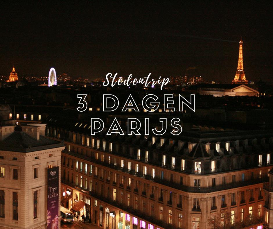 3 dagen parijs stedentrip verslag blog plog