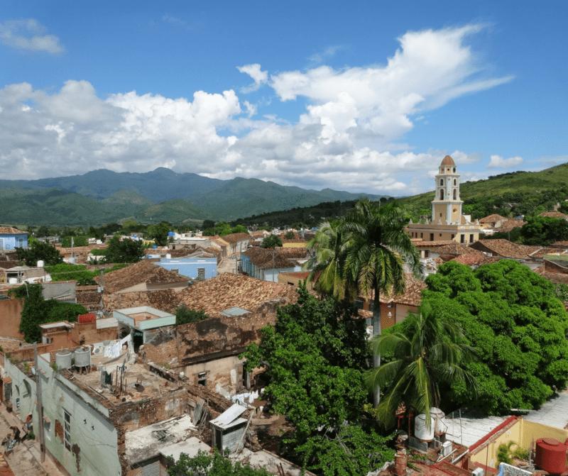 Trinidad uitzicht