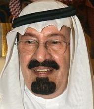 עבדאללה מלך סעודיה