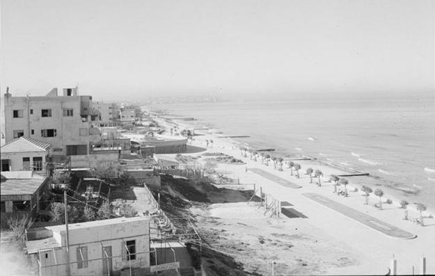 זירת הרצח חוף הים 1935