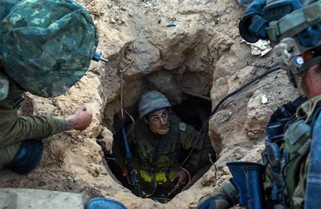 חטיבת גבעתי מנטרלת מנהרות ברצועה [צילום דובר צהל]
