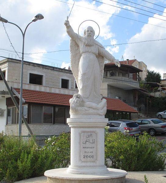 פסל אליהו בכפר פאסוטה צילום  ויקיפדיה
