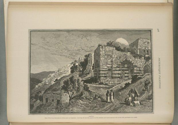 צפת לאחר רעידת האדמה