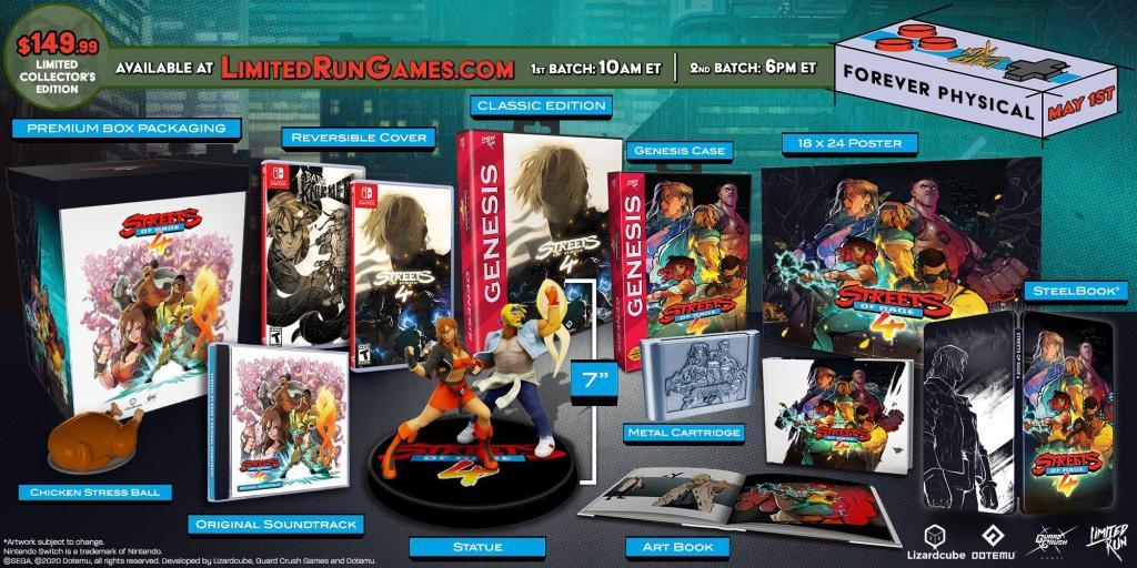 Limited Run Games анонсировали коллекционное издание по Streets of Rage 4 1