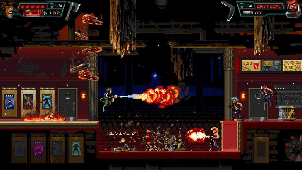 Huntdown - стильный экшен-платформер обзавёлся датой релиза на Nintendo Switch 3