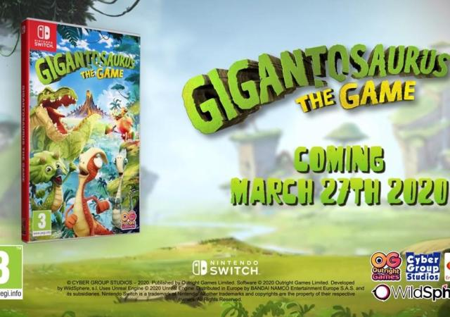 Релизный трейлер Gigantosaurus: The Game 28