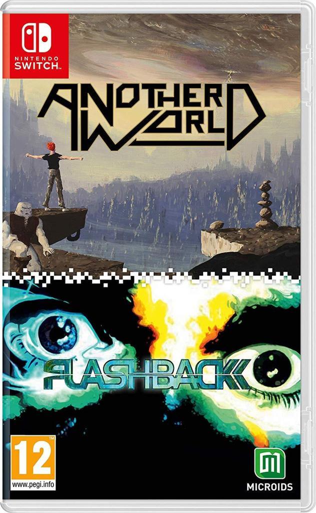 Физическая версия сборника Another World / Flashback выйдет в апреле 1