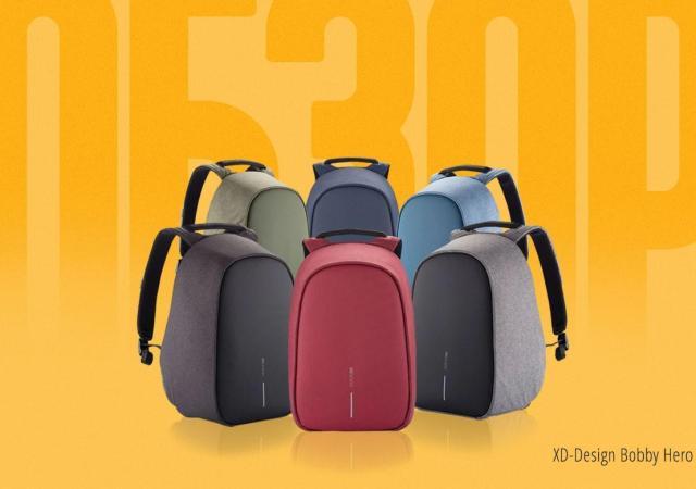 Обзор техно-гиковского рюкзака от XD Design - Bobby Hero и (промокод на 20% скидку) 14