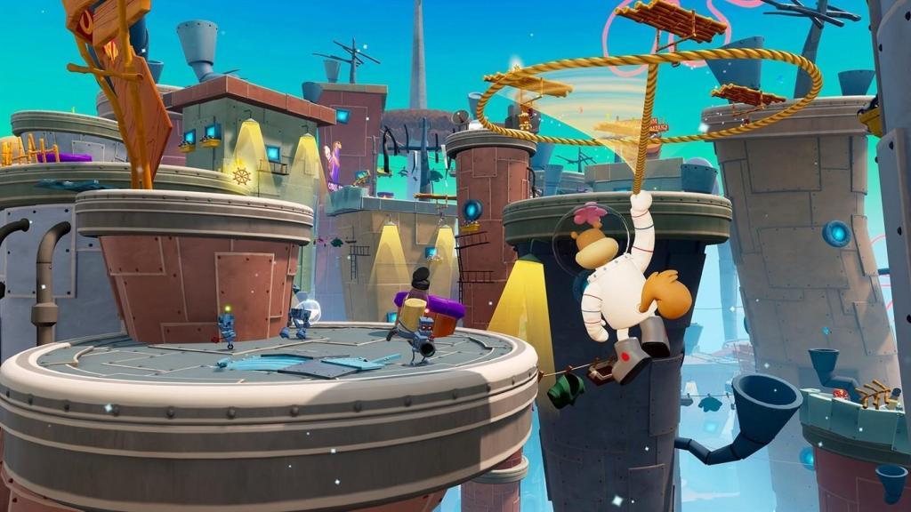 SpongeBob SquarePants: Battle for Bikini Bottom – Rehydrated выйдет в июне, новые скриншоты 1
