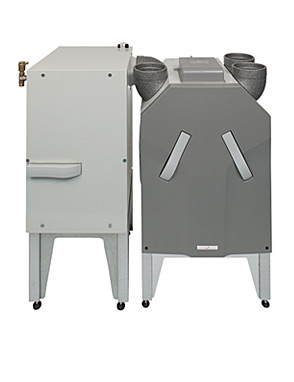 Geothermanl Heat Exchanger for HRV systems