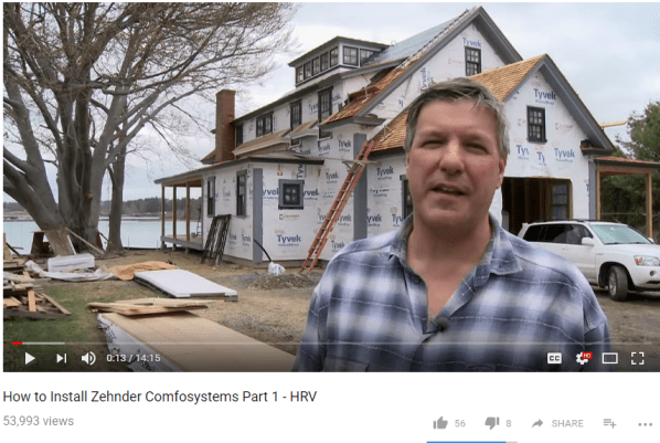 How to Install Zehnder Comfosystems Part 1