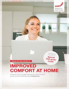 Indoor Air Comfort Brochure Cover