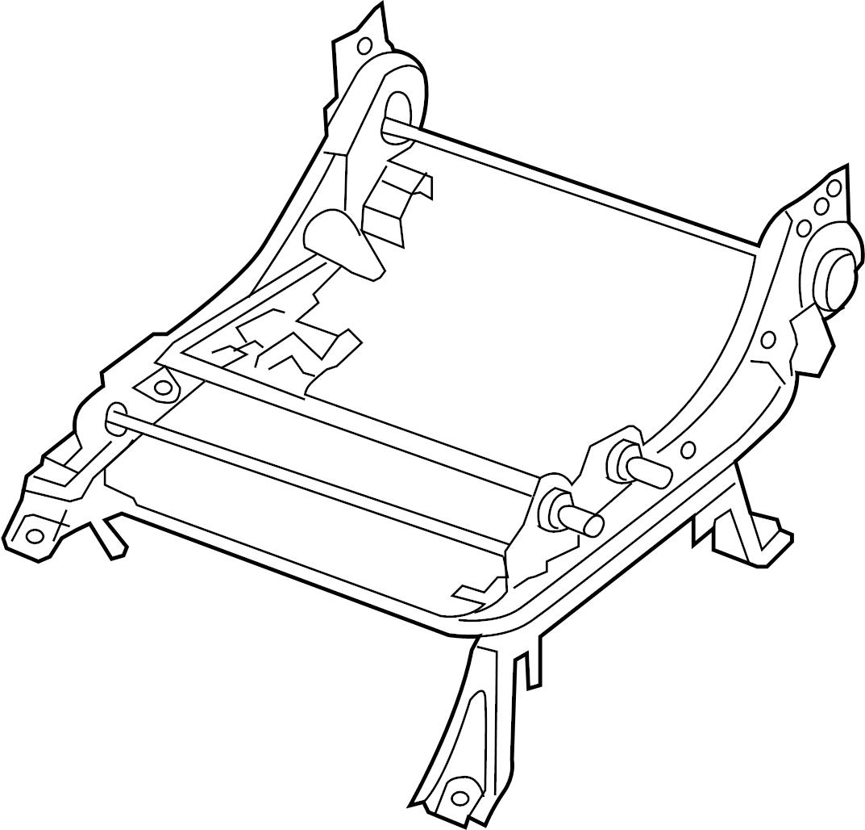 Nissan Xterra Seat Track Adjust Mechanism Left Front