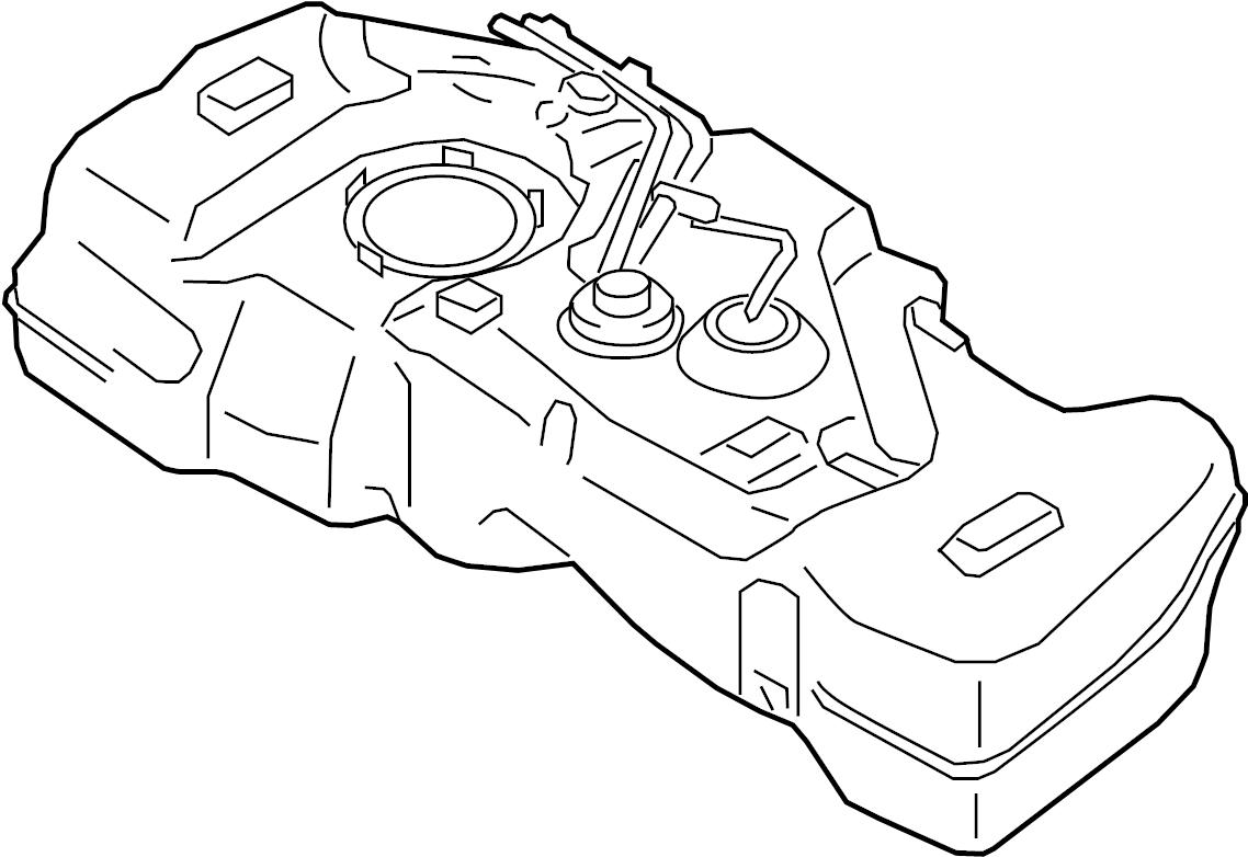 Nissan Sentra Fuel Tank