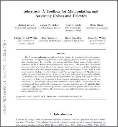 arXiv working paper
