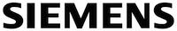 Siemens Logo schwarze Schrift