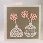 Christbaumkugeln oder Vasen?