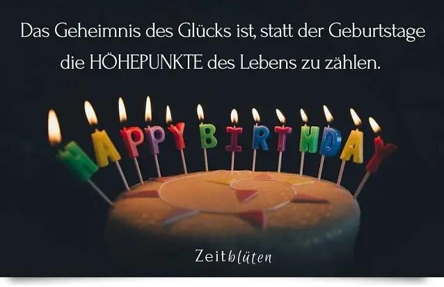 Gluckwunschspruche Zum Geburtstag