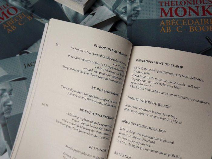 Abécédaire Thelonious Monk de Jacques Ponzio