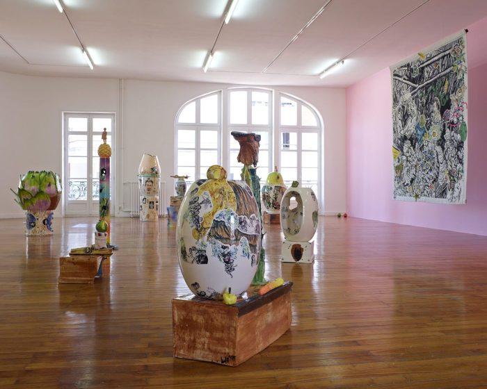 """Exposition """"Nouvelles de Veracruz"""" Lamarche-Ovize. Organisé par Le Grand Cafe - Centre d'Art Saint-Nazaire"""