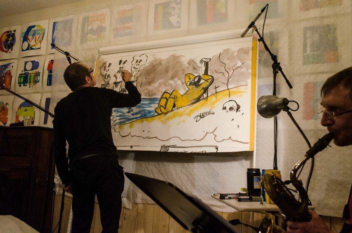 Yves Magne : dessins, illustrations