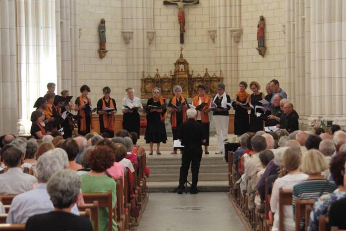 Concert dans l'église Saint Nazaire le 21 juin 2017