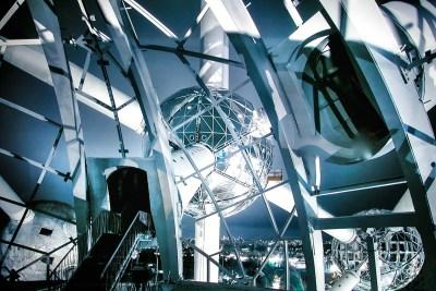 Tommy Pützstück Atomium Brüssel, 2010