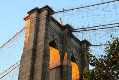 Tommy Pützstück, Brooklyn Bridge bei Sonnenuntergang