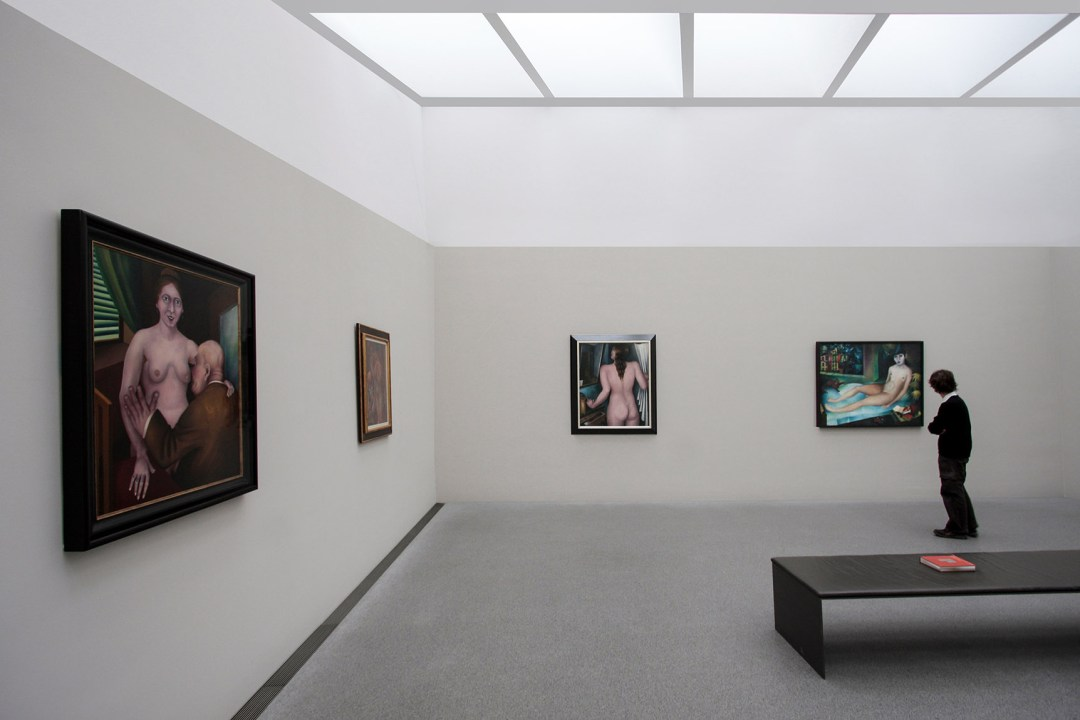 Wolfgang Ahrens: Im Museum II 2009