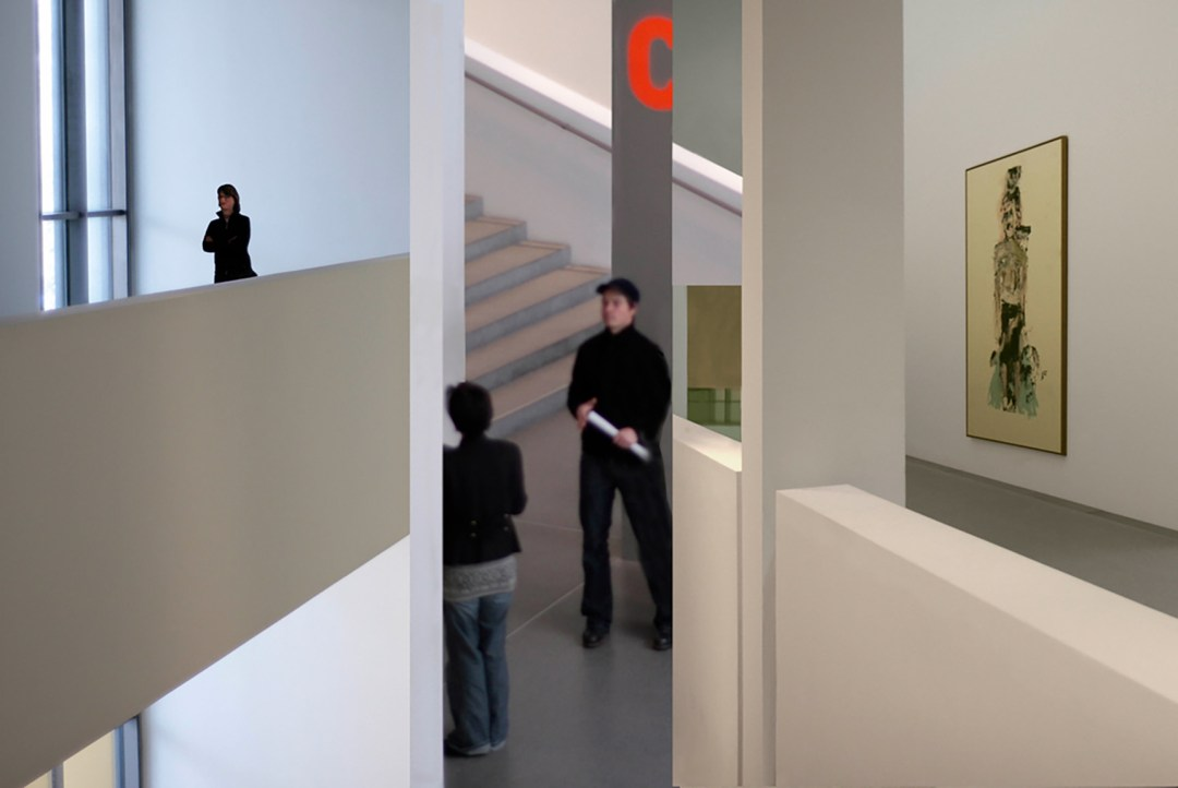 Wolfgang Ahrens Im Museum V 2009