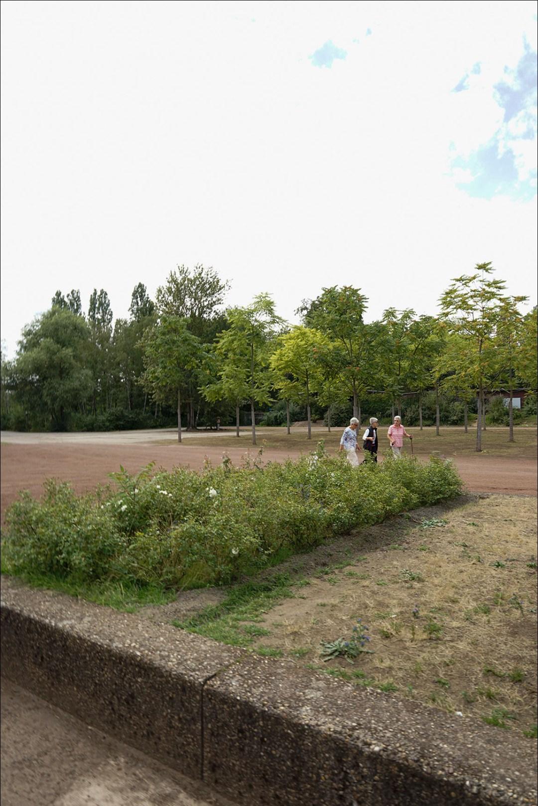 Wolfgang Ahens Spaziergang im Landschaftspark I 2019