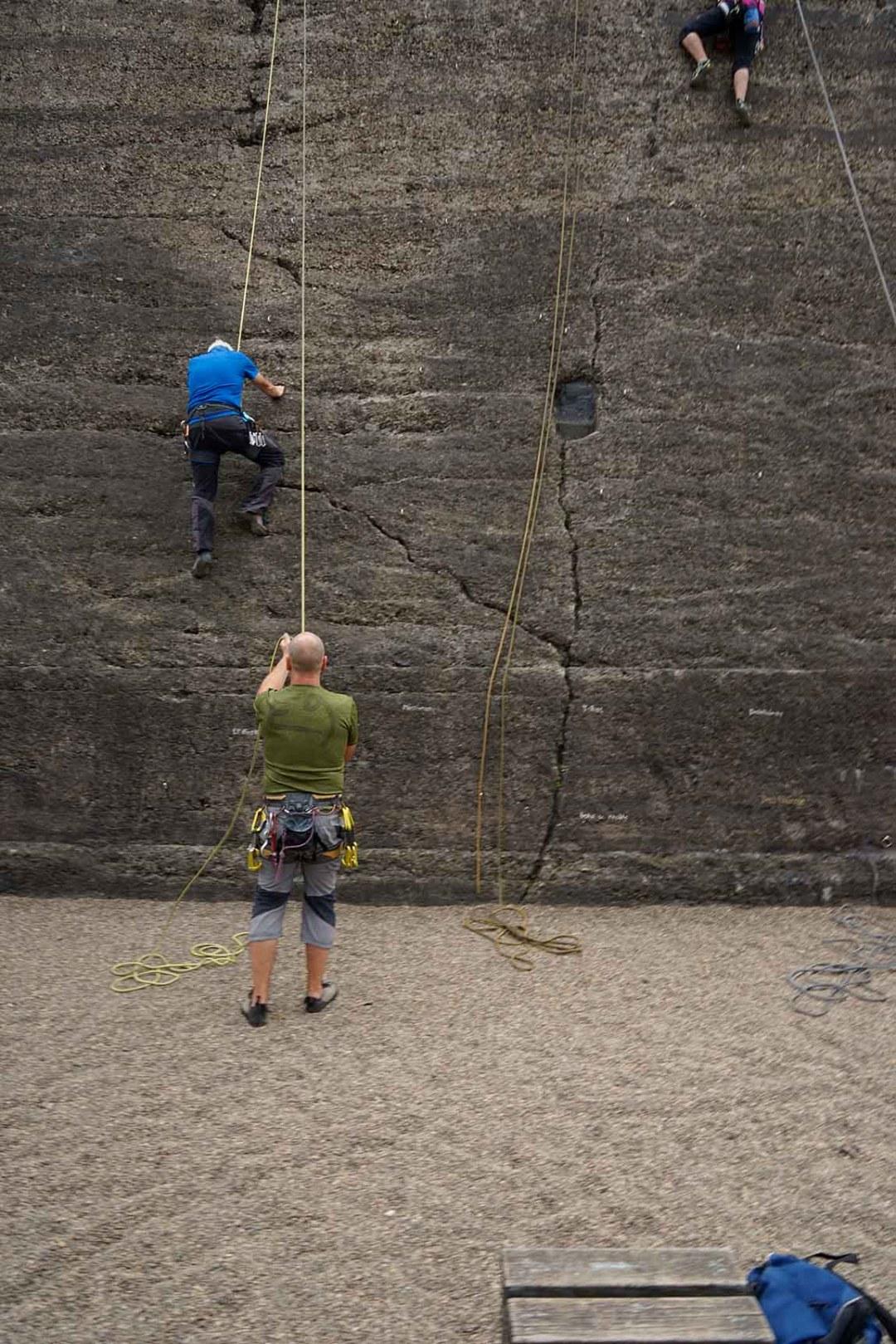 Wolfgang Ahrens In der Kletterwan IV 2019