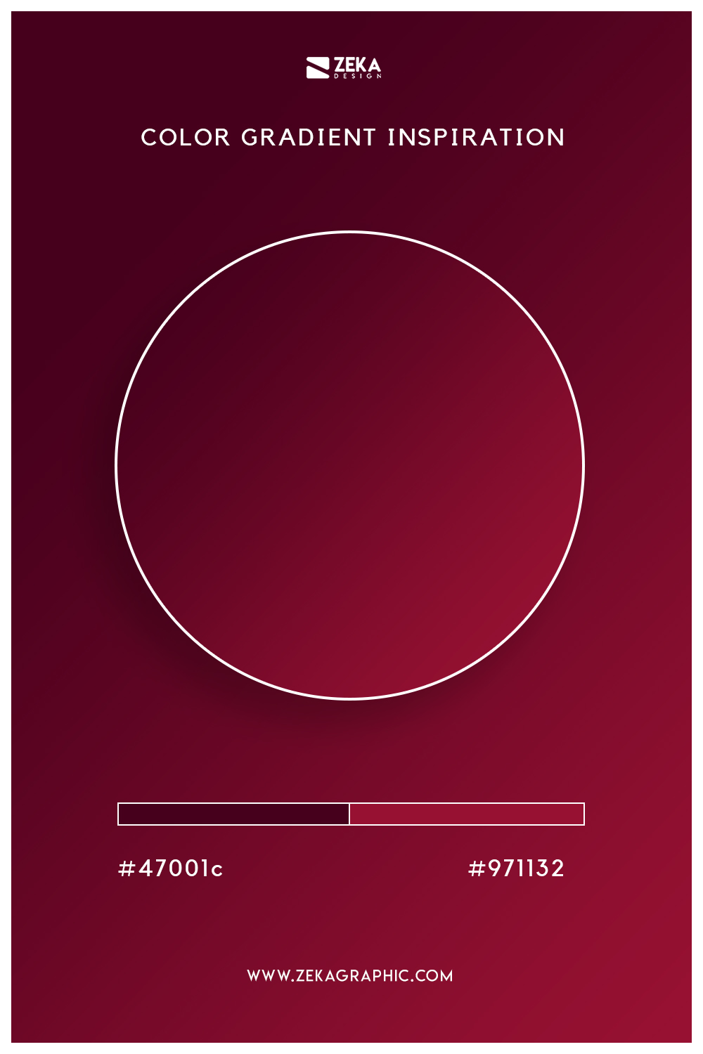06 Blackberry Bright Red Autumn Color Gradient Inspiration