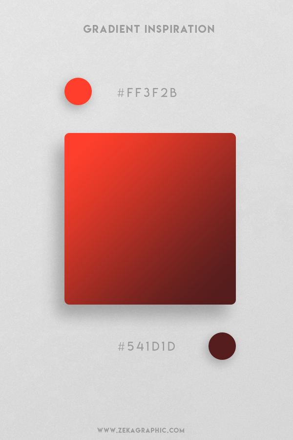 11 Red Orange Red Oxide Beautiful Color Gradient Inspiration Design