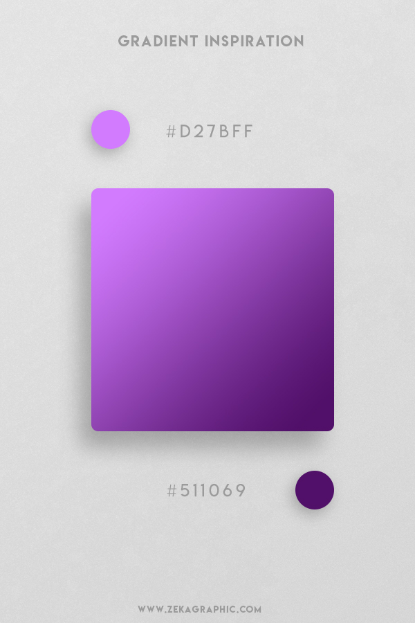 12 Heliotrope Indigo Beautiful Color Gradient Inspiration Design