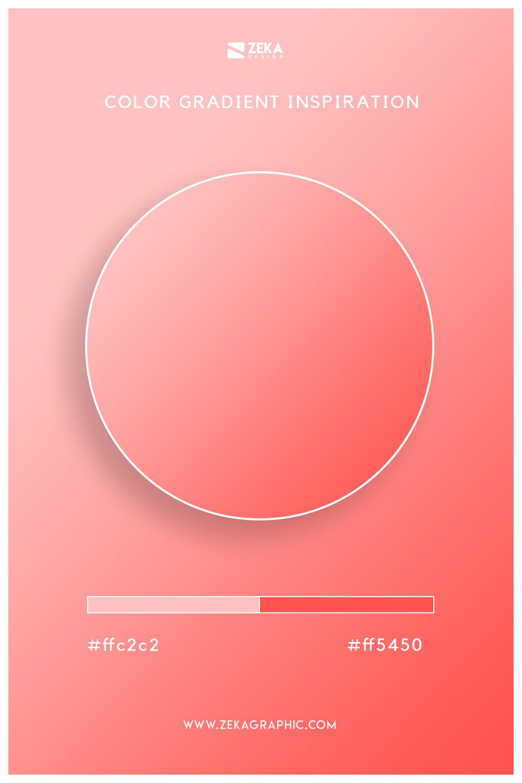 12 Your Pink Sunset Orange Color Gradient Inspiration