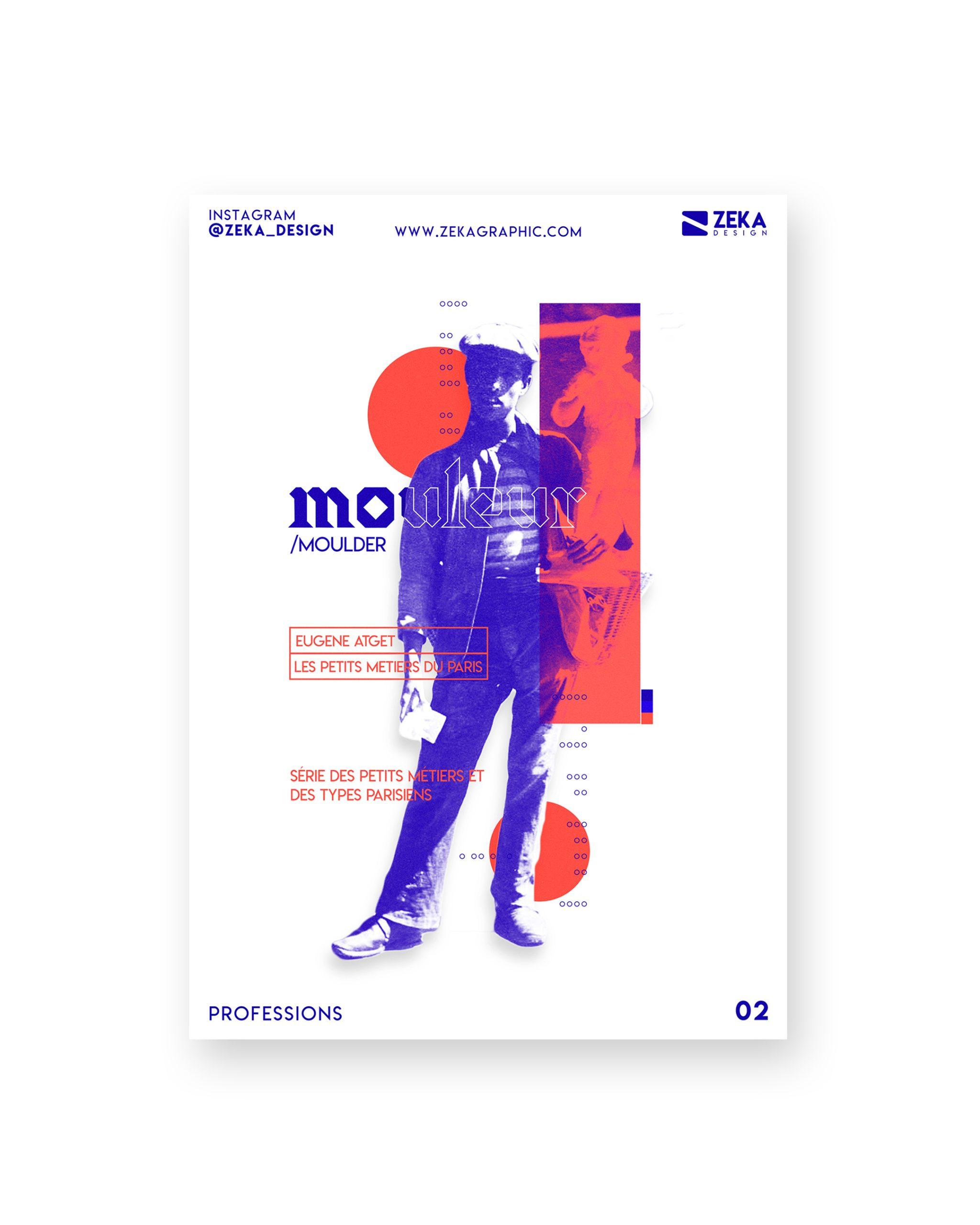 2020 Professions White Poster Design 02