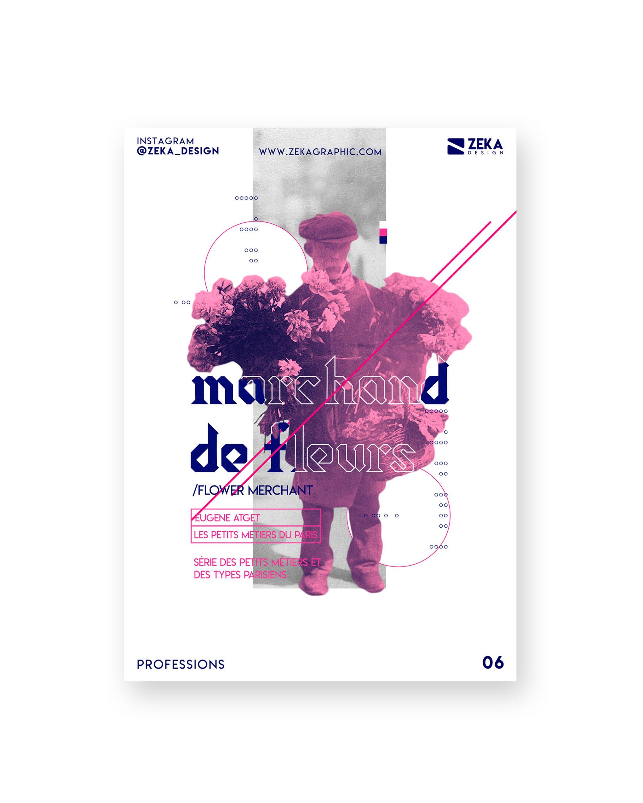 2020 Professions White Poster Design 06