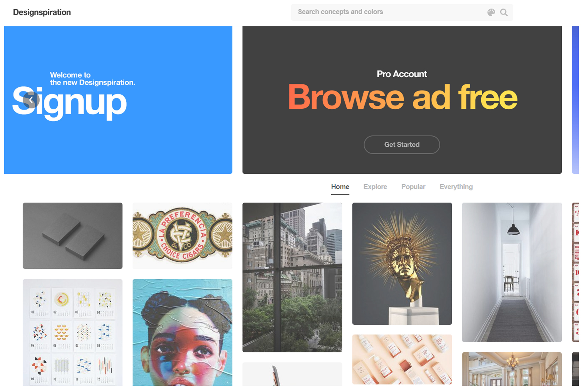 7 Best Website to Graphic Design Inspiration designinspiration