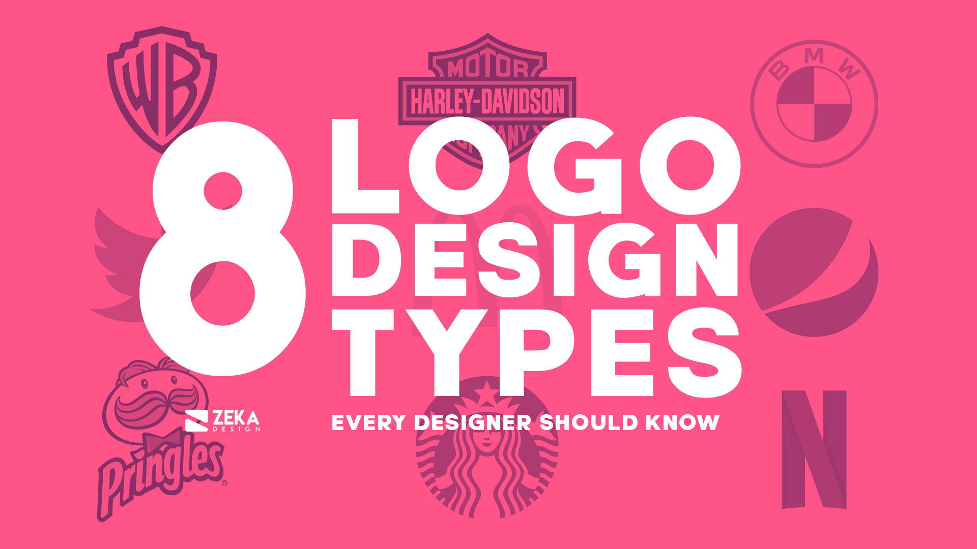 8 Logo Design Types Graphic Design Blog Ideas