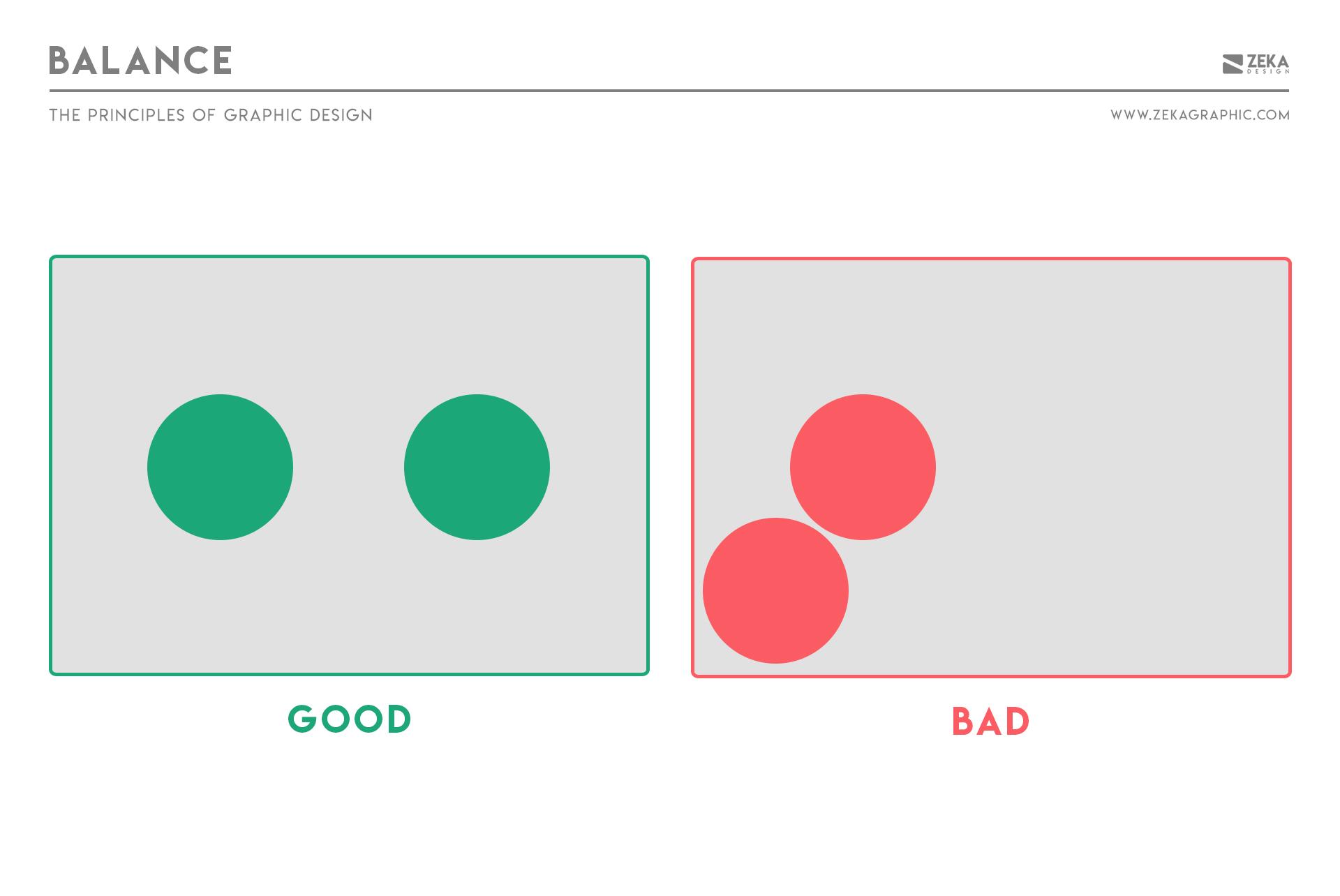 Balance Principle in Graphic Design