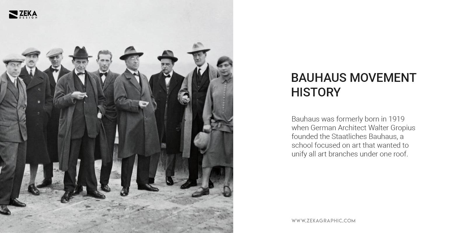 Bauhaus Art Movement History School Professors