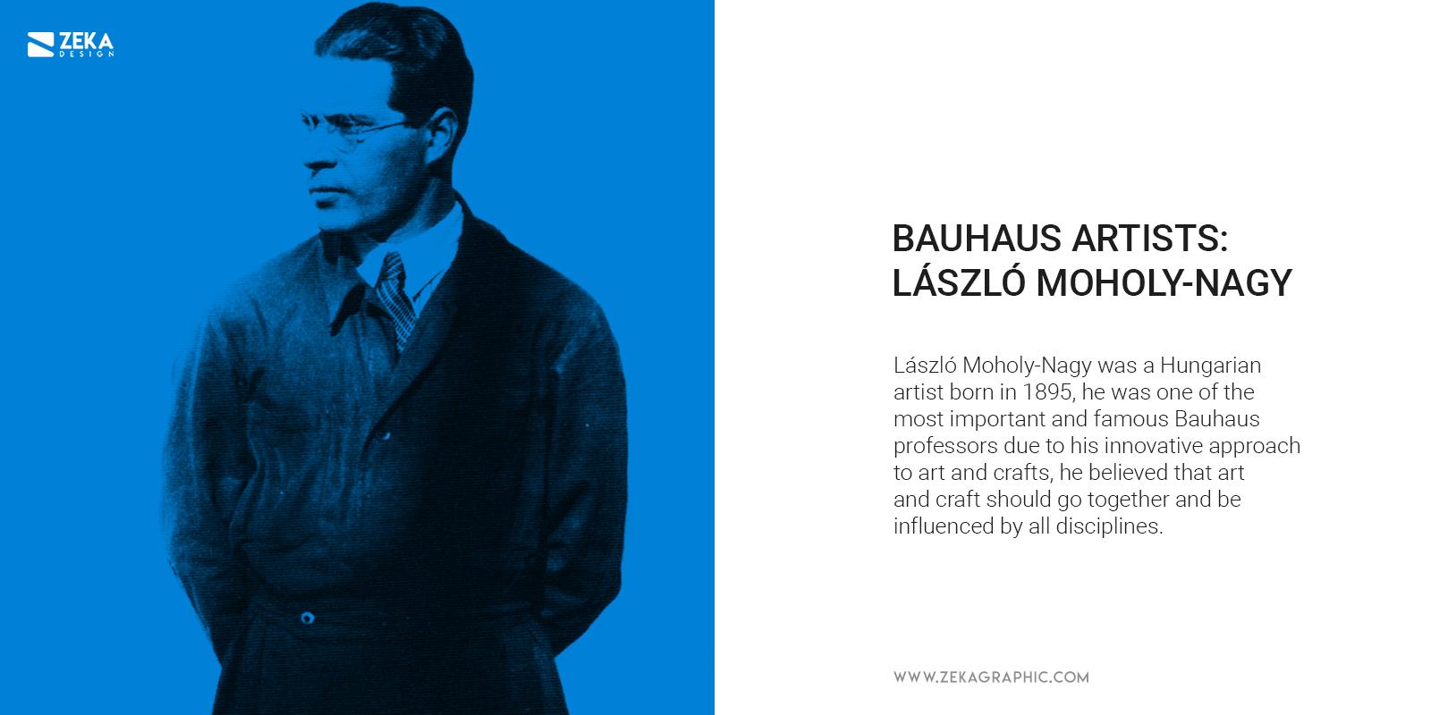 Bauhaus Artist Laszlo Moholy-Nagy Graphic Design Photography