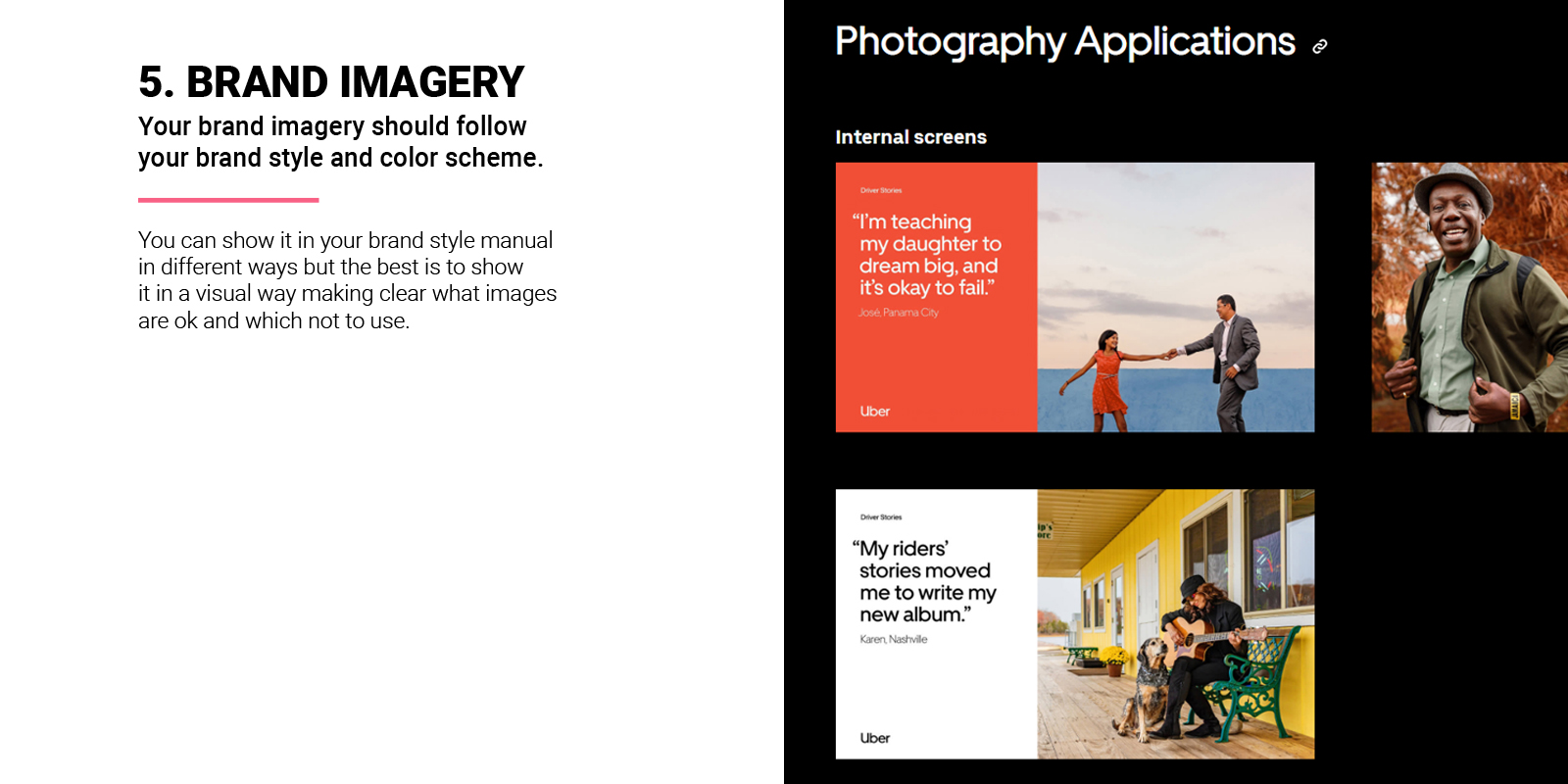 Brand Imagery in Brand Style Guide
