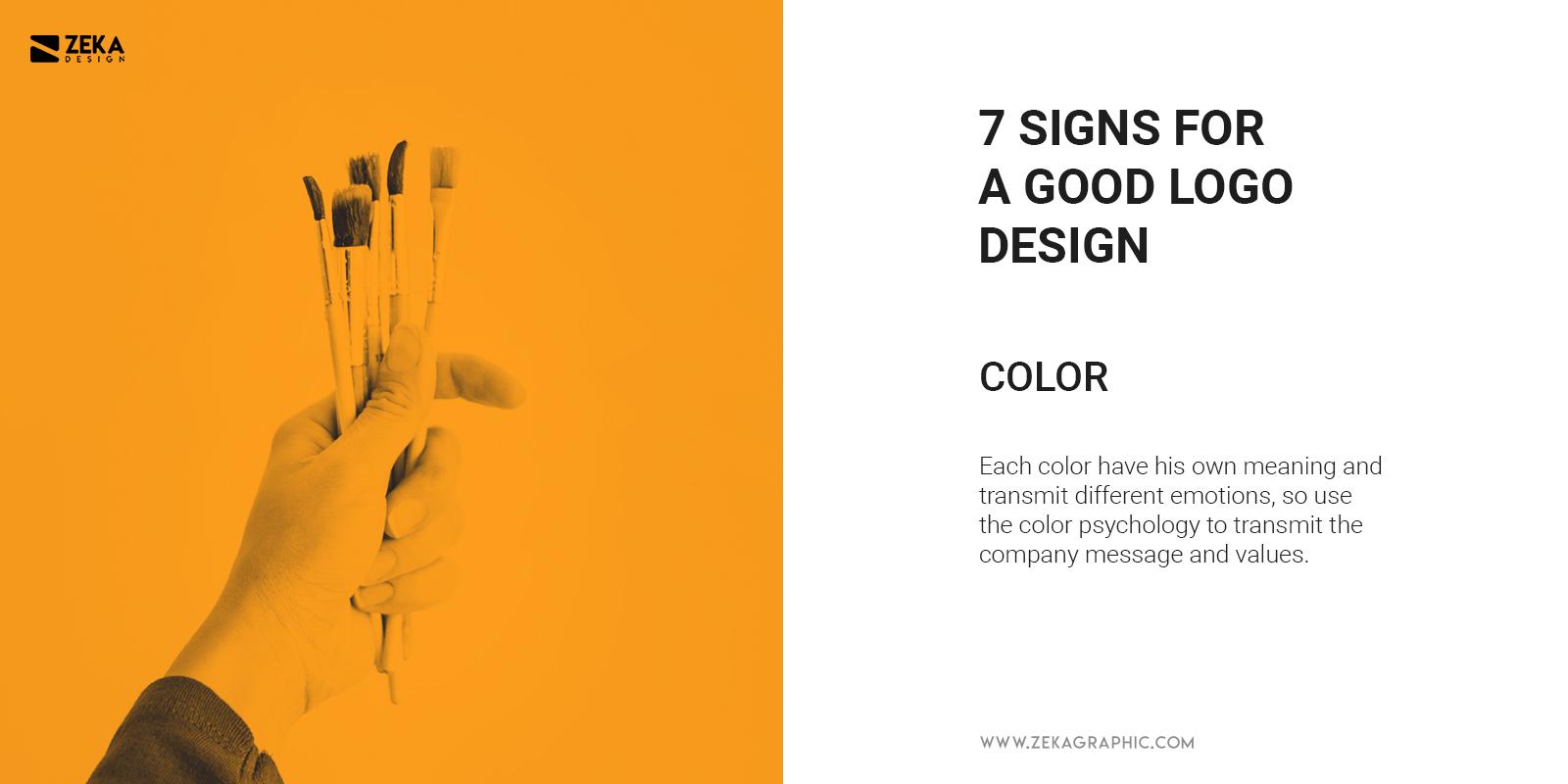 Color Logo Design Quality What Makes Good Logo Design