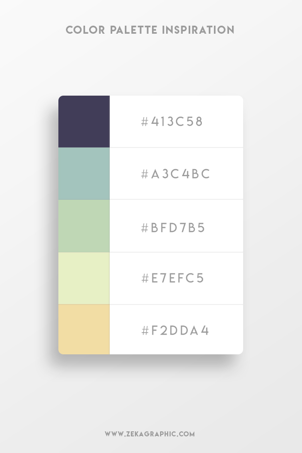 Color Palette Design Inspiration Graphic Design 3