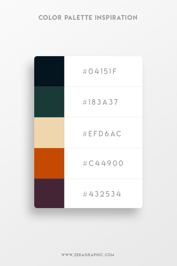 Color Palette Design Inspiration Graphic Design 7