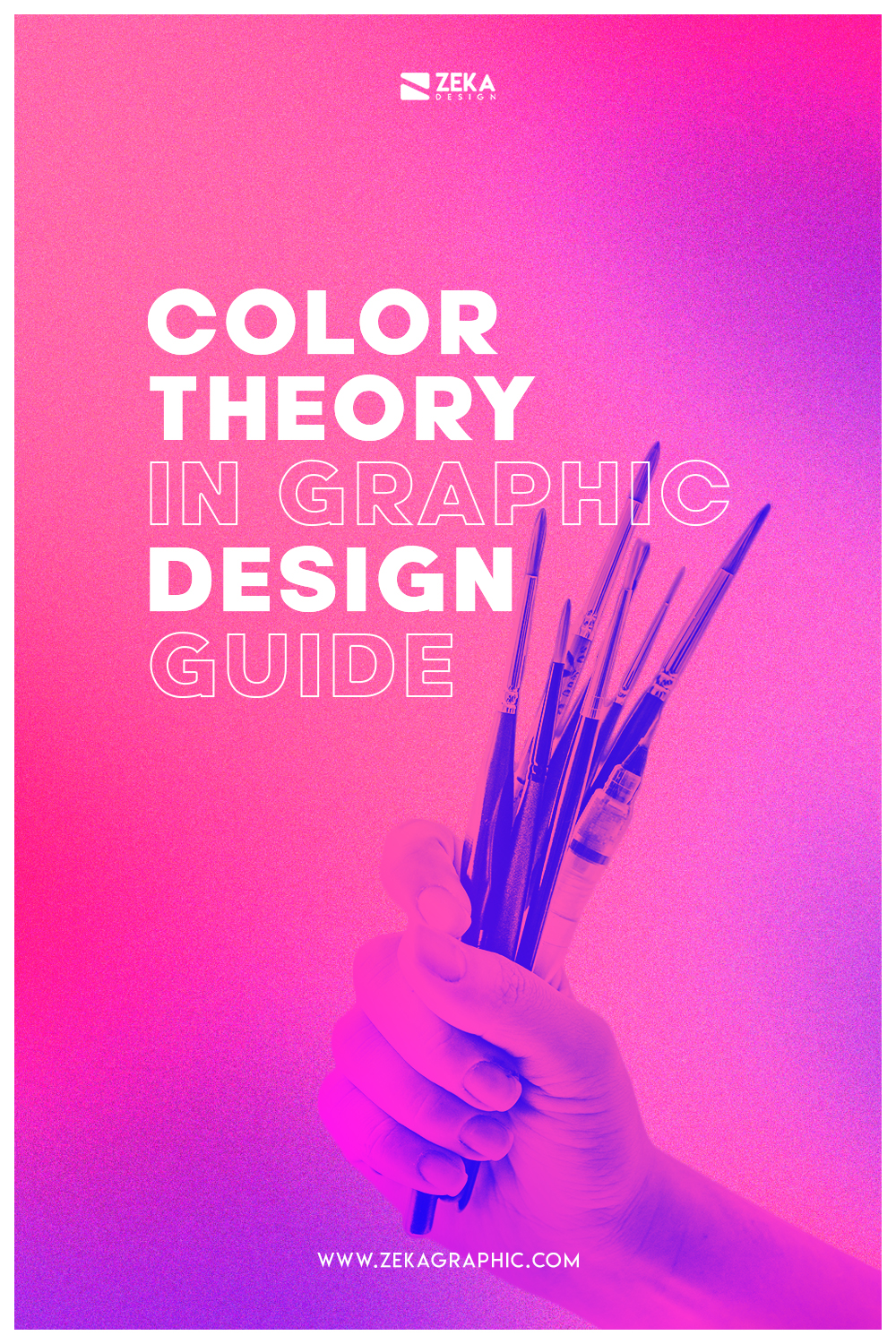 Color Theory In Graphic Design Explained Pin