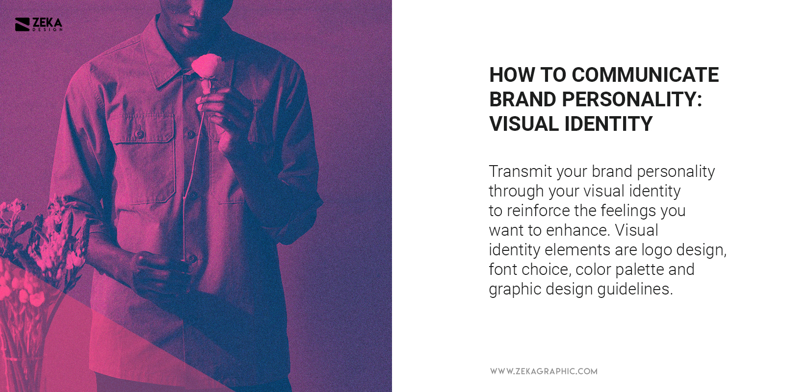 Communicate Brand Personality With Visual Identity